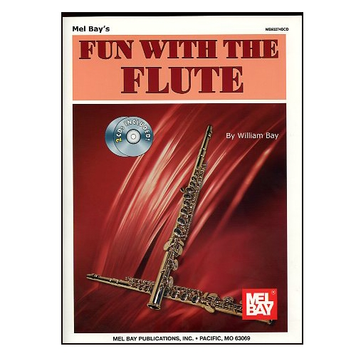 Fun with the Flute with 2 CD's - William Bay