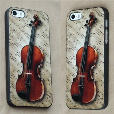iPhone 5 / 5s cover with Violin design