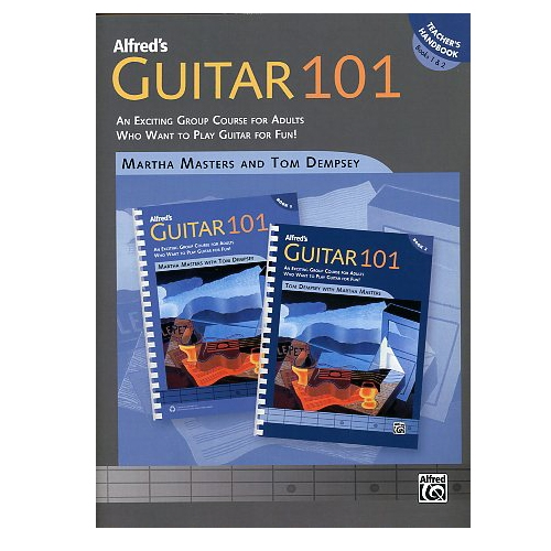 Alfred's Guitar 101 Teacher's Handbook Books 1&2
