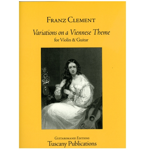 Clement, Variations on a Viennese Theme Violin & Guitar