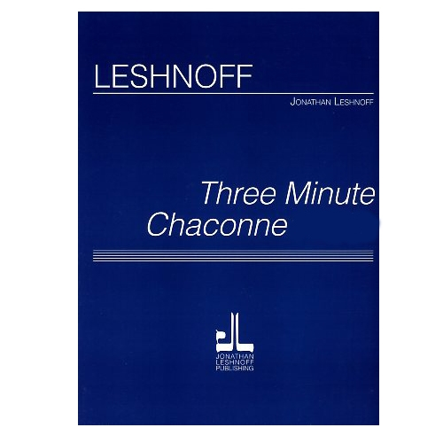 Three Minute Chaconne - Viola