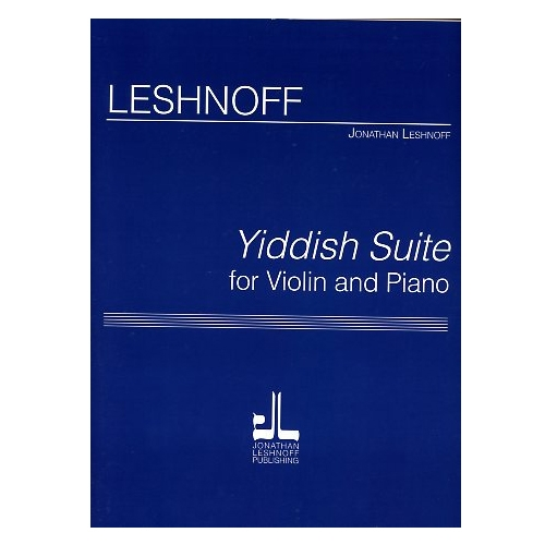 Yiddish Suite for Violin and Piano