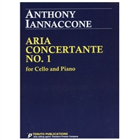 Aria Concertante No 1 for Cello and Piano