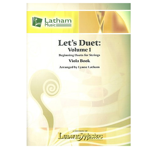 Let's Duet: Volume 1 Viola Book