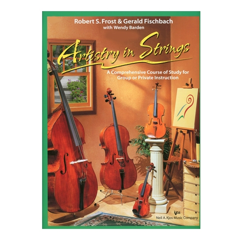 Artistry in Strings, Viola Book 1 - Frost and Fischbach