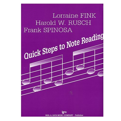 Quick Steps to Note Reading, Viola Volume 3 - Fink, Rusch, and Spinosa