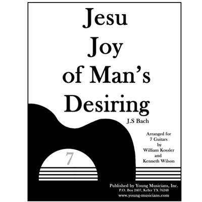 Jesu Joy of Man's Desiring for 7 Guitars