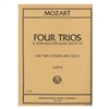 Mozart Four Trios for two violins and cello