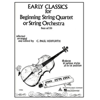 Early Classics for Beginning String Quartet or String Orchestra - Paul Herfurth
