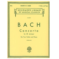 Concerto in D minor for 2 Violins and Piano - Bach