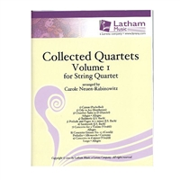 Collected Quartets, Volume 1 for String Quartet - Rabinowitz