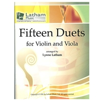 Fifteen Duets for Violin and Viola - Latham
