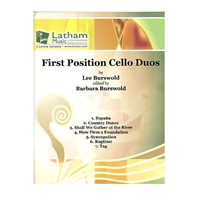First Position Cello Duos - Burswold