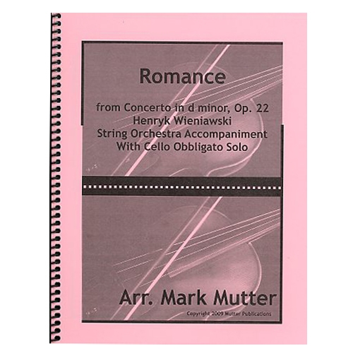 Romance - Wieniawski / Mutter