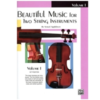 Beautiful Music for Two String Instruments, VIOLIN Volume 1 - Samuel Applebaum
