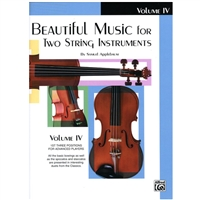 Beautiful Music for Two String Instruments - VIOLA Volume 4 - Applebaum