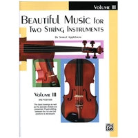 Beautiful Music for Two String Instruments, CELLO Volume 3 - Samuel Applebaum