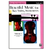 Beautiful Music for Two String Instruments, PIANO ACC., Vol 1 - Samuel Applebaum