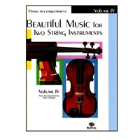 Beautiful Music for Two String Instruments, PIANO ACC., Vol 4 - Samuel Applebaum