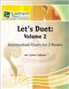 Let's Duet: Volume 2 for 2 Basses