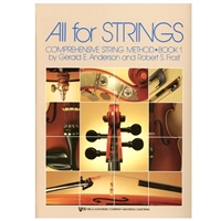 All for Strings, Bass Bk 1 - Anderson and Frost