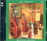 Artistry in Strings, Book 1 CD