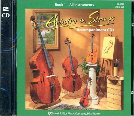 Artistry in Strings, Book 1 CD
