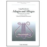 Adagio and Allegro - Cello & Piano
