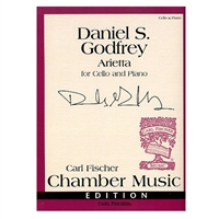Daniel S Godfrey Arietta for Cello and Piano