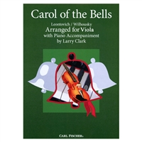 Carol of the Bells for viola (Christmas)