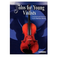 Solos for Young Violists, Volume 4 - Barbara Barber