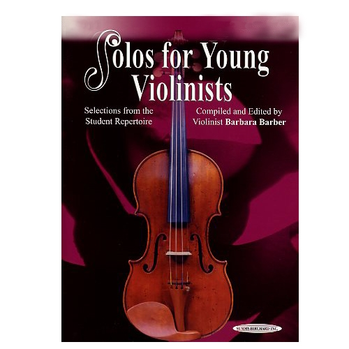 Solos For Young Violinists, Volume 3 (sheet music) - Barbara Barber