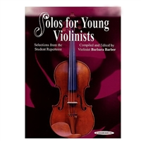 Solos For Young Violinists, Volume 5 (sheet music) - Barbara Barber