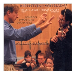 Brian Lewis CD - Bernstein / Michael McLean w London Symphony