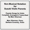 Popular Songs for Violin CD - Marc Sherman