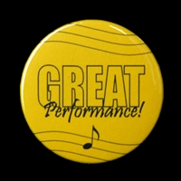 Great Performance Button