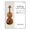 The original Sevcik Violin Studies, Op. 6 Part 3
