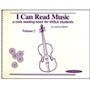 I Can Read Music, Viola Volume 2 - Joanne Martin