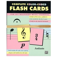 Color-Coded Flash Cards