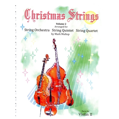 Christmas Strings Volume 2, Violin 2 - Mark Multop