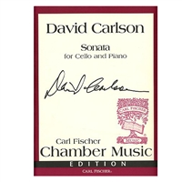 Sonata for Cello and Piano - David Carlson