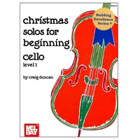Christmas Solos for Beginning Cello Level 1