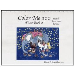 Color Me 100, Suzuki Repertoire Review, Flute Book 2