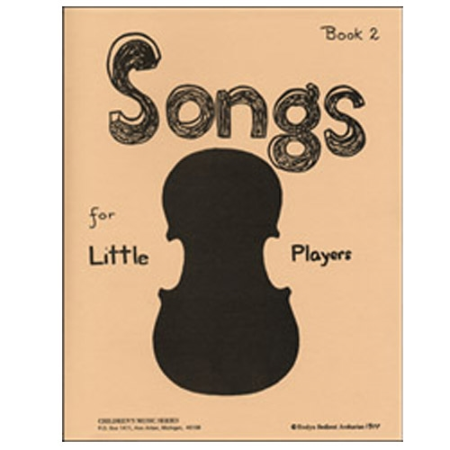 Songs for Little Players, Book 2 - Evelyn Avsharian