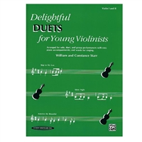 Delightful Duets for Young Violinists - William and Constance Starr