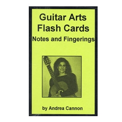 Guitar Arts Flash Cards