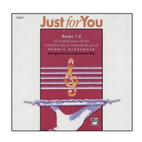 Just for You, Books 1-3 Accompaniment CD