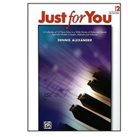 Just for You, Book 2 (Piano) - Dennis Alexander