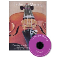 Technique Mastery for Violin, Volume 2 Book & CD - Kaminsky