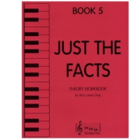 Just the Facts Book 5, Piano - Ann Lawry Gray
